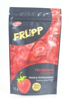 Truskawka liofilizowana Frupp (15 g) - Celiko | Sklep AleDobre.pl