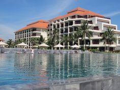 China Beach, Da Nang is THIS beautiful today China Beach, Da Nang, Vietnam, Mansions, House Styles, Beautiful, Home Decor, Decoration Home, Manor Houses