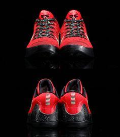 #Nike Kobe IX Elite Low - University Red/Black #sneakers