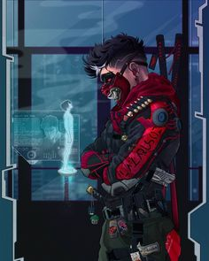 Robin Ninja OniYou can find Cyberpunk and more on our website. Fantasy Character Design, Character Design Inspiration, Character Art, Character Concept, Arte Ninja, Ninja Art, Arte Cyberpunk, Cyberpunk Fashion, Cyberpunk 2077