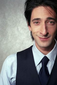 Adrien Brody. Strange looking bird but an amazing actor! :)