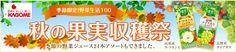 20121024_【楽天24】カゴメ 季節限定!野菜生活100 秋の果実収穫祭