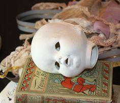 Porcelain Doll Head for Art or Display. Shop: VintageSupplyCo
