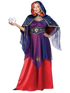 Mystical Sorceress Plus Size Costume Size 2Xl Plus Size Halloween Costumes 2014 http://bigcurvylove.com/2014/09/06/plus-size-halloween-costumes-2014/  #plusssize #halloween