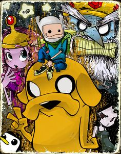 +Adventure Time+ by ~kraola on deviantART