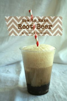 Make your next party really amazing with this easy homemade root beer recipe! It takes a regular root beer float to the next level! Summer Drinks, Cocktail Drinks, Cocktails, Refreshing Drinks, Summer Fun, Cold Drinks, How To Make Beer, How To Make Homemade, Homemade Beer