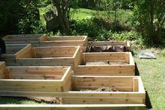 Terraced Garden Boxes