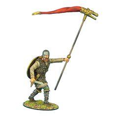 German Warrior Standard Bearer