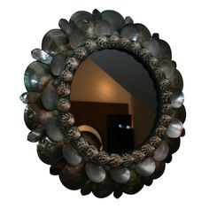 Shell Mirror by Thomas Boog