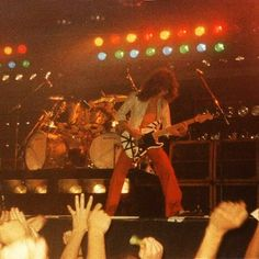 """EDDIE (VAN HALEN) CIRCA 1978!"" #evh #eddievanhalen #alexvanhalen #diamonddave #davidleeroth #michaelanthony #Vintage #Klassik #Classic #Rock #Music #History #1970s #1978 #Frankenstein #Frankenstrat #guitar #vantastikhistory #Vantastik #VanHalen #vanhalenhistory"