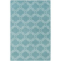 Found it at Wayfair - Signature Emily Hand-Tufted Light Blue Area Rug