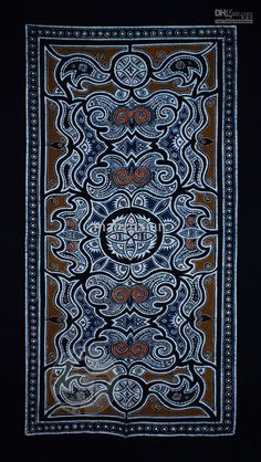 guizhou-miao-batik-batik-wall-murals-curtain.jpg (750×1330)