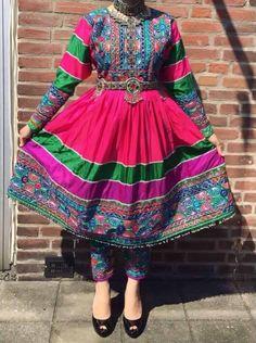 #afghan #style #dress #afghani #girl
