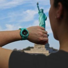 Baby-G Tough and water resistant ladies analog and digital watches. Baby G Shock, Casio G Shock, Travel Style, Apple Watch, Watches, Blue, Gain, Girls, Men