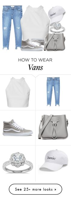 """Untitled #2551"" by claudcsilva on Polyvore featuring MANGO, Vans, 3.1 Phillip Lim, SO and Zac Posen"