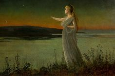 John Atkinson Grimshaw, Ariadne at Naxos, 1877