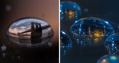 I Photograph Cities In Water Drops Using A Secret Technique I Kept Away From Public For 15 Years   Bored Panda