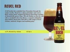 I'm not huge on reds, but Stoudt's Revel Red is terrific.