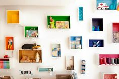 Big en Belg #kidsroom #shelves #DIY