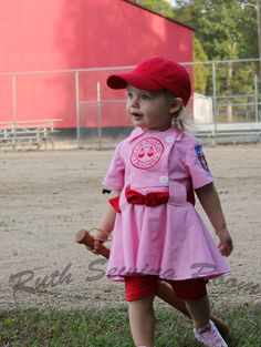 Rockford Peach Costume. Too stinkin' cute.