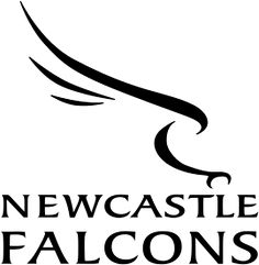 Newcastle Falcons, Rugby Football Union, Newcastle upon Tyne, England Rugby Tattoos, Rugby Pictures, English Rugby, Falcon Logo, Leather Carving, Falcons, Newcastle, Team Logo, Logos