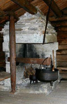 Norwegian Folk Museum: Old farm house interior