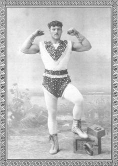The fanciest strongman in the world.