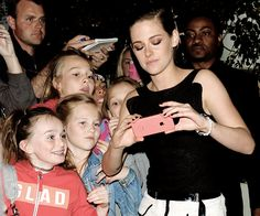 Tumblr Kristen with her younger fans