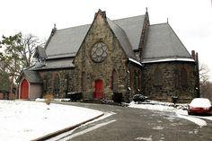 Saint James Episcopal Church in Fordham, Bronx, New York City