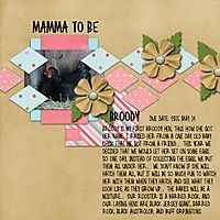 Broody Hen Birthday Girl by Wimpychompers Template by Dagi Temp-tations...