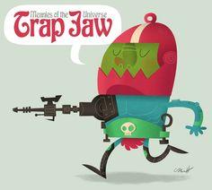 Trap Jaw by MattKaufenberg.deviantart.com on @deviantART