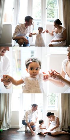 relaxed family photography at home in Cambridge