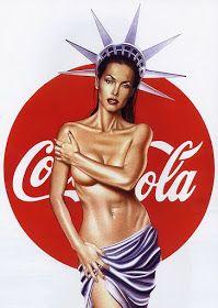 Bildergebnis für coca cola pin up girl