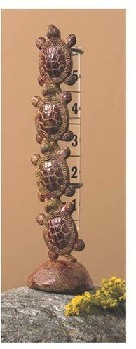 Climbing Turtles join our top-selling Frogs and Dragonflies brass Rain Gauges. Not compatible with the replacement rain gauge Boxed. World Turtle Day, Turtle Time, Tiny Turtle, Turtle Beach, Eastern Box Turtle, Cute Turtles, Sea Turtles, Rain Gauge, Tortoise Turtle