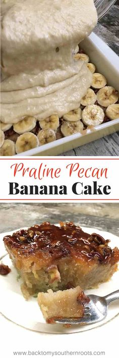 Praline Pecan Banana Bread is a rich and delicious dessert that everyone will love. Grab those ripe bananas and get ready for a tasty praline pecan treat. Banana Recipes, Cake Recipes, Dessert Recipes, Picnic Recipes, Easy Desserts, Delicious Desserts, Baking Desserts, Cake Baking, Health Desserts