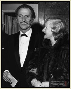 Peter and Helen Cushing at the premier for The Gorgon (1965)