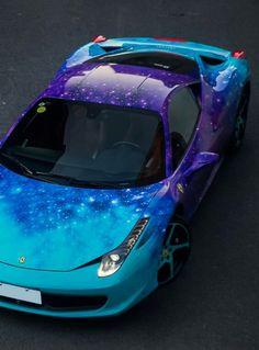 Ferrari 458 italia galaxy