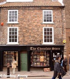 Went into this Chocolate store in York