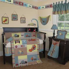 """$94.99-$269.99 Baby Custom Baby Bedding - Construction Zone 13 PCS Crib Bedding - Contruction Zone by Sisi Bby Design is a playful nursery collection for baby boy.The whole set comes with 13 pcs set. This set is made to fit all standard crib beds. Suggested Retail price $179.99     13 Piece set comes with :  * 1 Crib Quilt (37 x 46"""")  * 1 Crib Bumper (10 x 160"""")  * 1 Fitted Crib Sheet (28 x 52"""")  * 1  ..."""