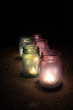 I need to figure out how to stain mason jars. I think this is so pretty love the vintage feel'