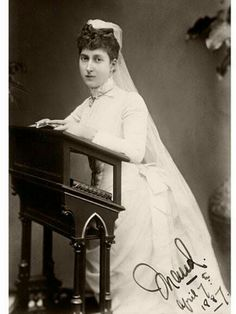 images of maud queen of norway - Probably Confirmation photo Princess Louise, Princess Of Wales, Princess Victoria, Queen Victoria, Maud Of Wales, Princess Alexandra Of Denmark, Christian Ix, King Edward Vii, Victoria And Albert