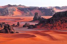 Tassili n'Ajjer National Park. Algeria