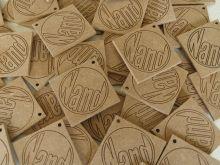 Geboortelabels met naamgravure Coins, Labels, Personalized Items, Design, Baby, Coining, Rooms, Newborn Babies, Infant