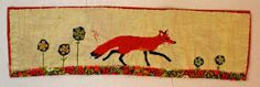 Thread and Thrift: Fox and Flowers
