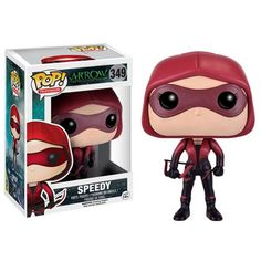 Arrow The Television Series Pop! Vinyl Figure Speedy Our latest additions to Team Arrow are coming this summer! The Green Arrow, leader of Team Arrow, and his younger sister Speedy are ready for anyth