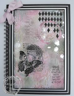 Made this using Seth Apter and Tim Holtz stamps and dies amongst other stash.