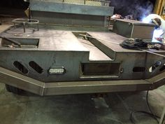 BUILDING THE NEW FLAT BED Custom Flatbed, Custom Truck Beds, Toy Trucks, Pickup Trucks, Custom Ute Trays, Flatbed Truck Beds, Mobile Welding, Truck Accesories, Ute Canopy