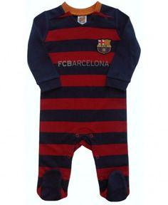 FC Barcelona Baby Kit Sleepsuit - 2015/16 Season