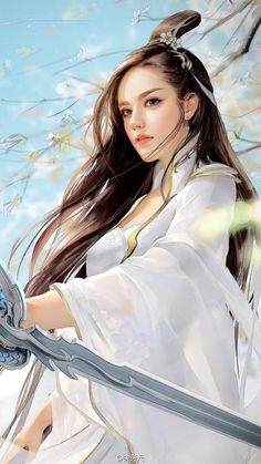 Ideas For Chinese Art Girl Fantasy Fantasy Girl, Chica Fantasy, Fantasy Women, Anime Fantasy, Final Fantasy, Fantasy Princess, Fantasy Romance, Warrior Princess, Art Chinois