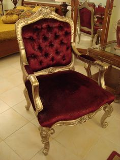 Ahmet Turkmen Furniture and Decoration Baroque Decor, Armchairs, Antiques, Decoration, Furniture, Home Decor, Wing Chairs, Antiquities, Decor